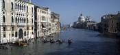 Gondolas in a canal, Grand Canal, Venice, Veneto, Italy