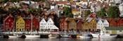 Harbor in Bergen, Norway