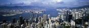Hong Kong with Cloudy Sky, China