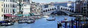 Rialto Bridge & Grand Canal Venice Italy