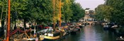 View of a Canal, Netherlands, Amsterdam