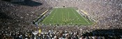 Aerial view of a football stadium, Notre Dame Stadium, Notre Dame, Indiana, USA