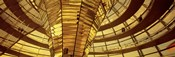 Glass Dome from Interior, Reichstag,Berlin, Germany