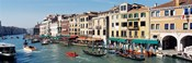 High angle view of a canal, Grand Canal, Venice, Italy