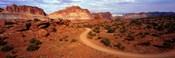 Desert Road, Utah, USA