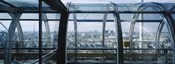 Elevated walkway in a museum, Pompidou Centre, Beauborg, Paris, France