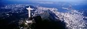 View of Christ the Redeemer and Rio De Janeiro, Brazil