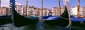 Close-Up of Gondolas, Grand Canal, Venice, Italy
