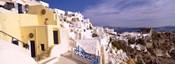 Buildings in a city, Santorini, Cyclades Islands, Greece