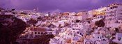 Buildings along the Cliff, Santorini, Greece