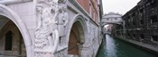 Bridge across a canal, Bridge of Sighs, Venice, Italy