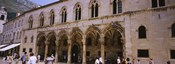Group of people in front of a palace, Rector's Palace, Dubrovnik, Croatia