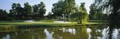 Lake on a golf course, Tantallon Country Club, Fort Washington, Maryland, USA