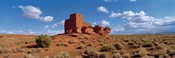 Ruins of a building in a desert, Wukoki Ruins, Wupatki National Monument, Arizona, USA
