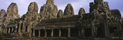Facade of an old temple, Angkor Wat, Siem Reap, Cambodia