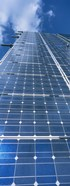 Low angle view of solar panels, Germany