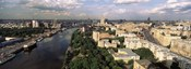 Aerial view of a city, Moscow, Russia