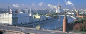 Buildings at the waterfront, Moskva River, Moscow, Russia