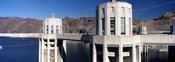 Dam on a river, Hoover Dam, Colorado River, Arizona-Nevada, USA
