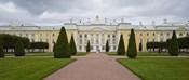 Facade of a palace, Peterhof Grand Palace, St. Petersburg, Russia