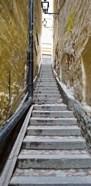 Stairway along walls, Gamla Stan, Stockholm, Sweden