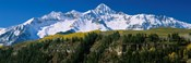 Snowcapped mountains on a landscape, Wilson Peak in autum, San Juan Mountains, near Telluride, Colorado