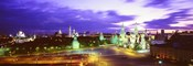 Russia, Moscow, Red Square at night