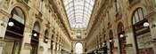 Interiors of a hotel, Galleria Vittorio Emanuele II, Milan, Italy
