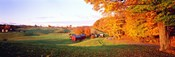 Fall Farm VT USA