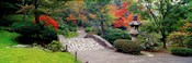 Stone Bridge, The Japanese Garden, Seattle, Washington State, USA
