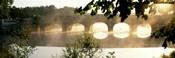 Stone Bridge In Fog, Loire Valley, France