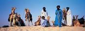 Tuareg Camel Riders, Mali, Africa
