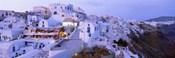 White washed buildings, Santorini, Greece