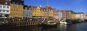 Buildings On The Waterfront, Nyhavn, Copenhagen, Denmark