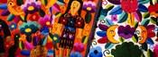 Close-Up Of Textiles, Guatemala