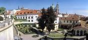 High angle view of a garden, Vrtbovska Garden, Prague, Czech Republic