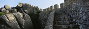 Low angle view of staircase of a castle, Castelo Dos Mouros, Sintra, Portugal