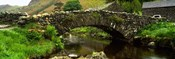 Stone Bridge Over A Canal, Watendlath Bridge, Lake District, Cumbria, England, United Kingdom