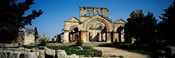 Old ruins of a church, St. Simeon The Stylite Abbey, Aleppo, Syria