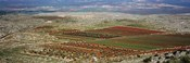 Panoramic view of a landscape, Aleppo, Syria