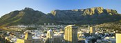 High angle view of a city, Cape Town, South Africa