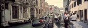 Buildings along a canal, Grand Canal, Rio Di Palazzo, Venice, Italy