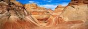 Canyon on a landscape, Vermillion Cliffs, Arizona, USA