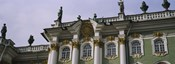 Low angle view of a palace, Winter Palace, State Hermitage Museum, St. Petersburg, Russia