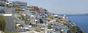 Houses in a city, Santorini, Cyclades Islands, Greece