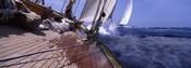 Sailboats in the sea, Antigua, Antigua and Barbuda