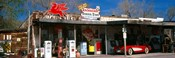 Store with a gas station on the roadside, Route 66, Hackberry, Arizona