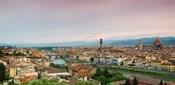 Buildings in a city, Ponte Vecchio, Arno River, Duomo Santa Maria Del Fiore, Florence, Italy