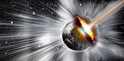 Earth hit by comet