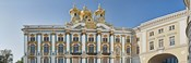 Architectual detail of Catherine Palace, St. Petersburg, Russia